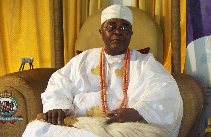His Royal Majesty Oba-Adedotun-Gbadebo