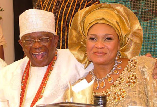 Otunba Olasubomi Balogun and Wife