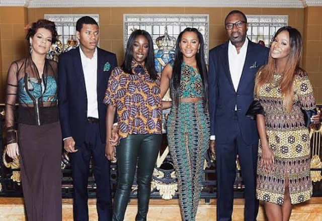 Mr. Femi Otedola and Family