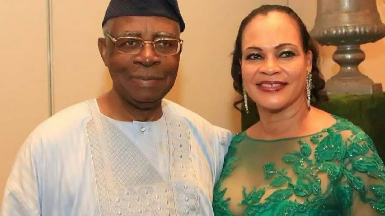 General Theophilus Yakubu Danjuma and Wife