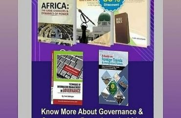 BOOKS WITHOUT BORDERS — GOOD GOVERNANCE AS THE MAIN INGREDIENT OF DEVELOPMENT
