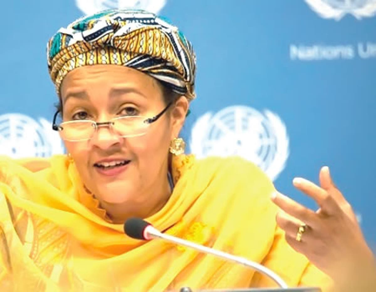 Amina J. Mohammed — Daughter of a herder who is Deputy Secretary-General of the United Nations